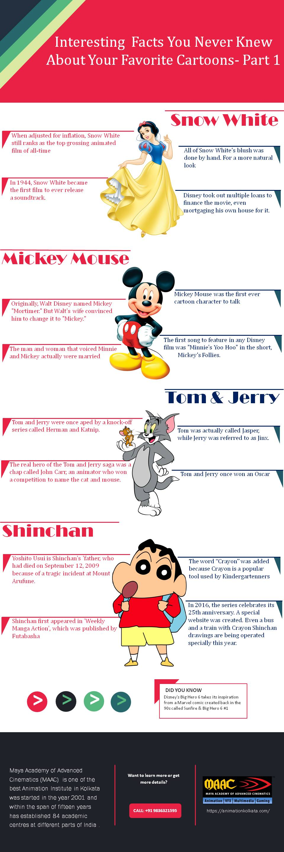 Interesting facts about cartoons