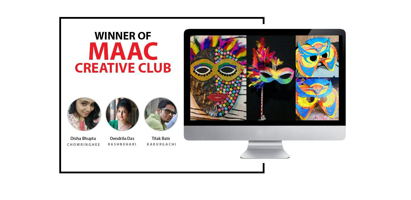 Winner of MAAC Creative Club