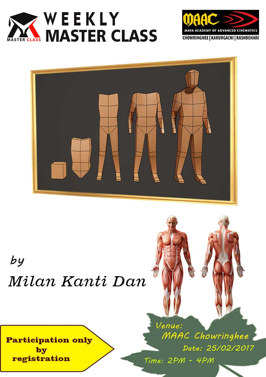 Weekly Master Class on Character Modeling - Milan Kanti Dan