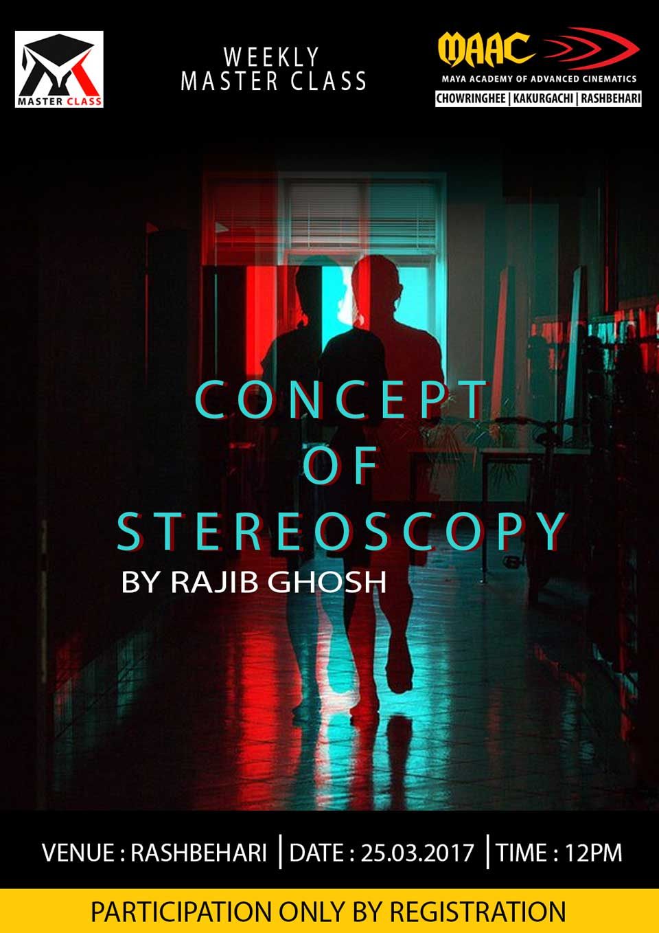 Weekly Master Class on Concept of Stereoscopy - Rajib Ghosh