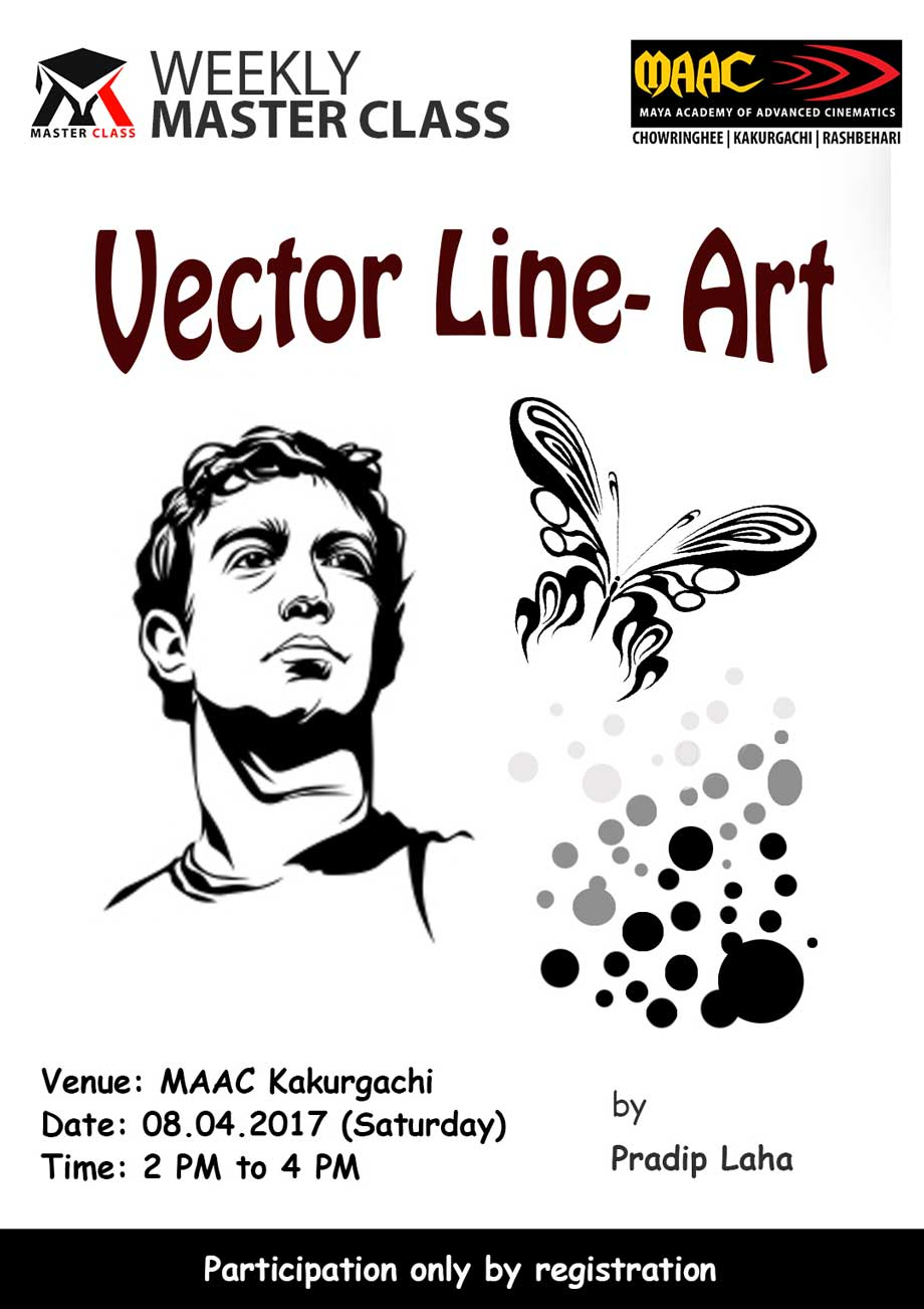 Weekly Master Class on Vector Line-Art - Pradip Laha