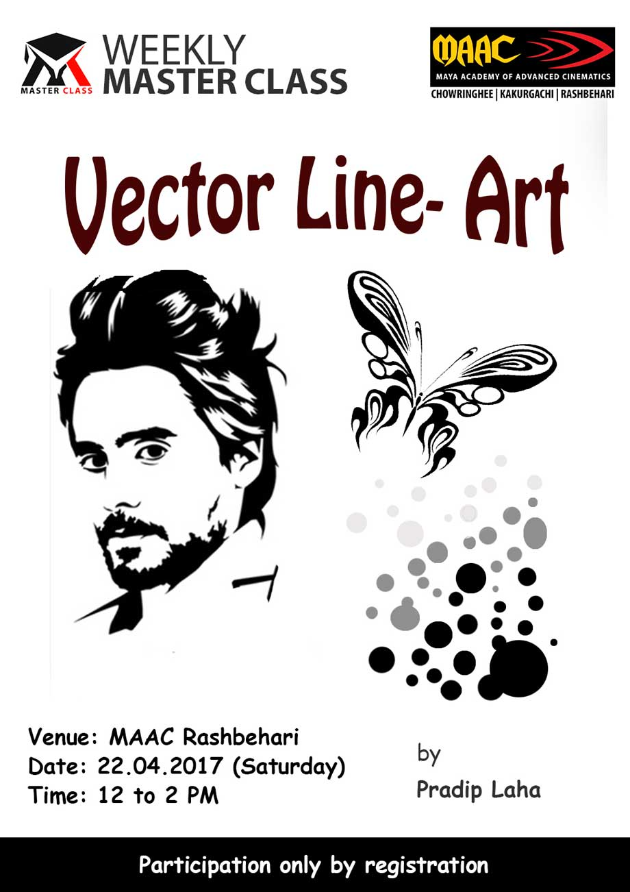 Weekly Master Class on Vector Art-Line - Pradip Laha