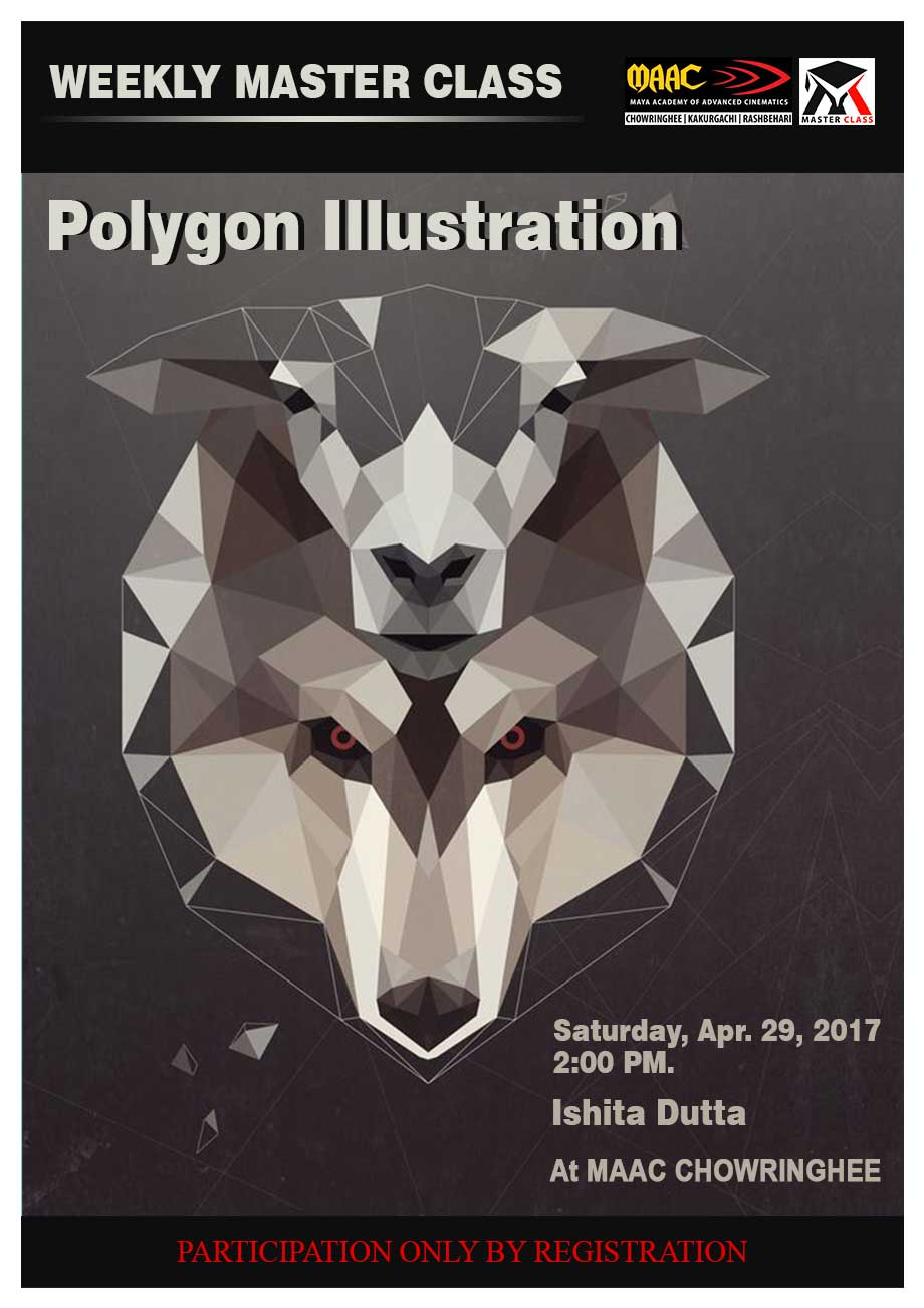 Weekly Master Class on Polygon Illustration - Ishita Dutta