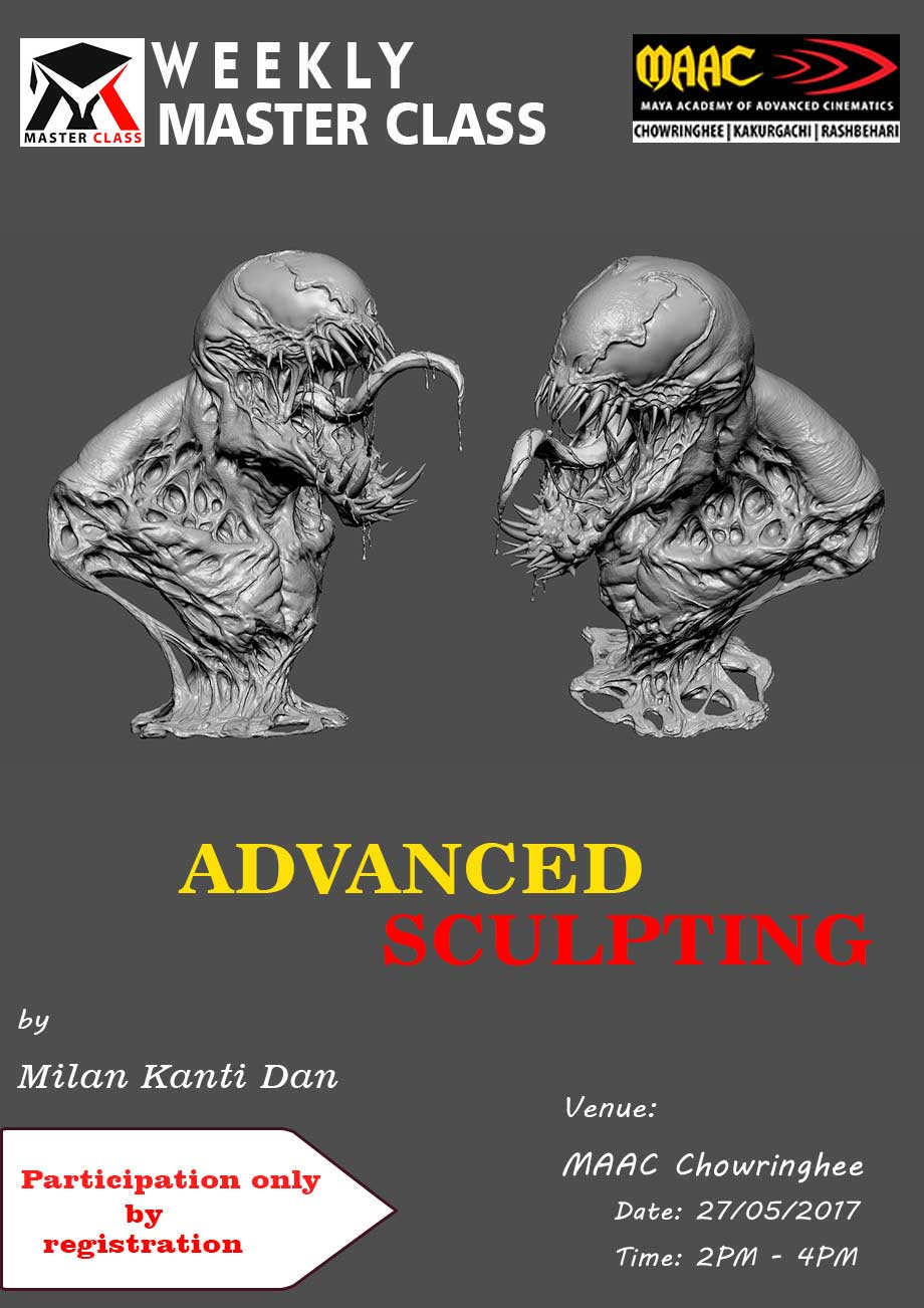Weekly Master Class on Advanced Sculpting - Milan Kanti Dan