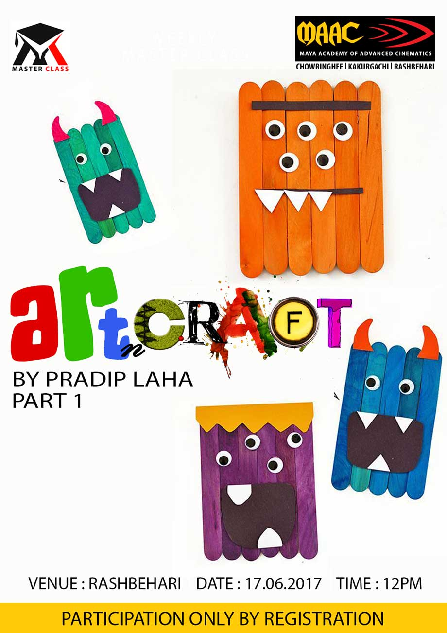 Weekly Master Class on Art & Craft - Pradip Laha