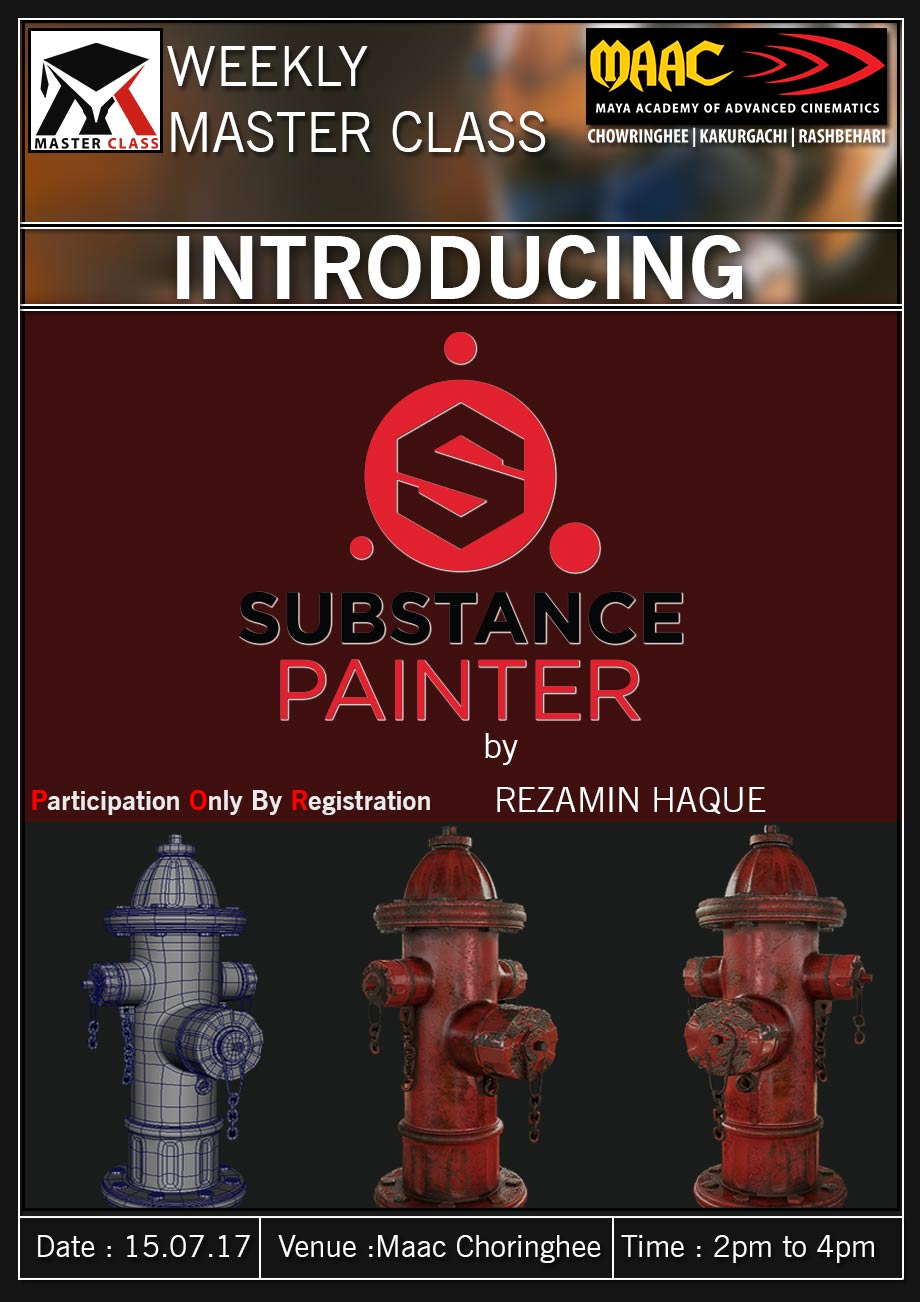 Weekly Master Class on Substance Painting - Rezamin Haque