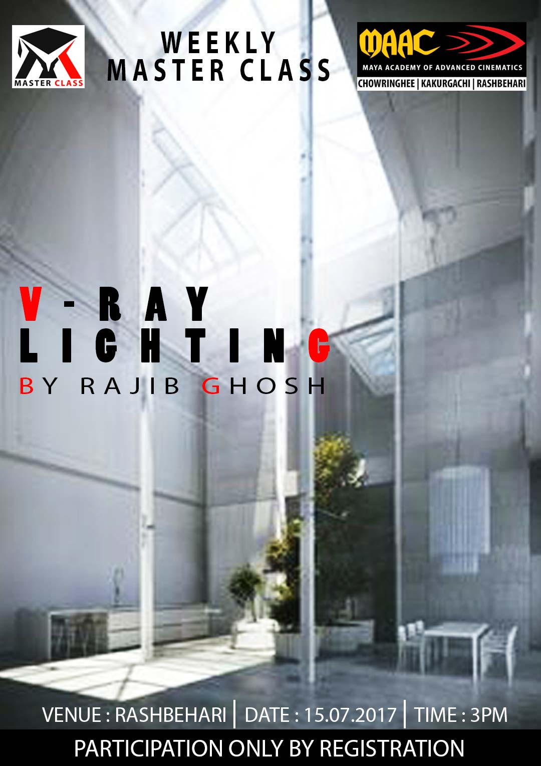 Weekly Master Class on V-Ray Lighting - Rajib Ghosh