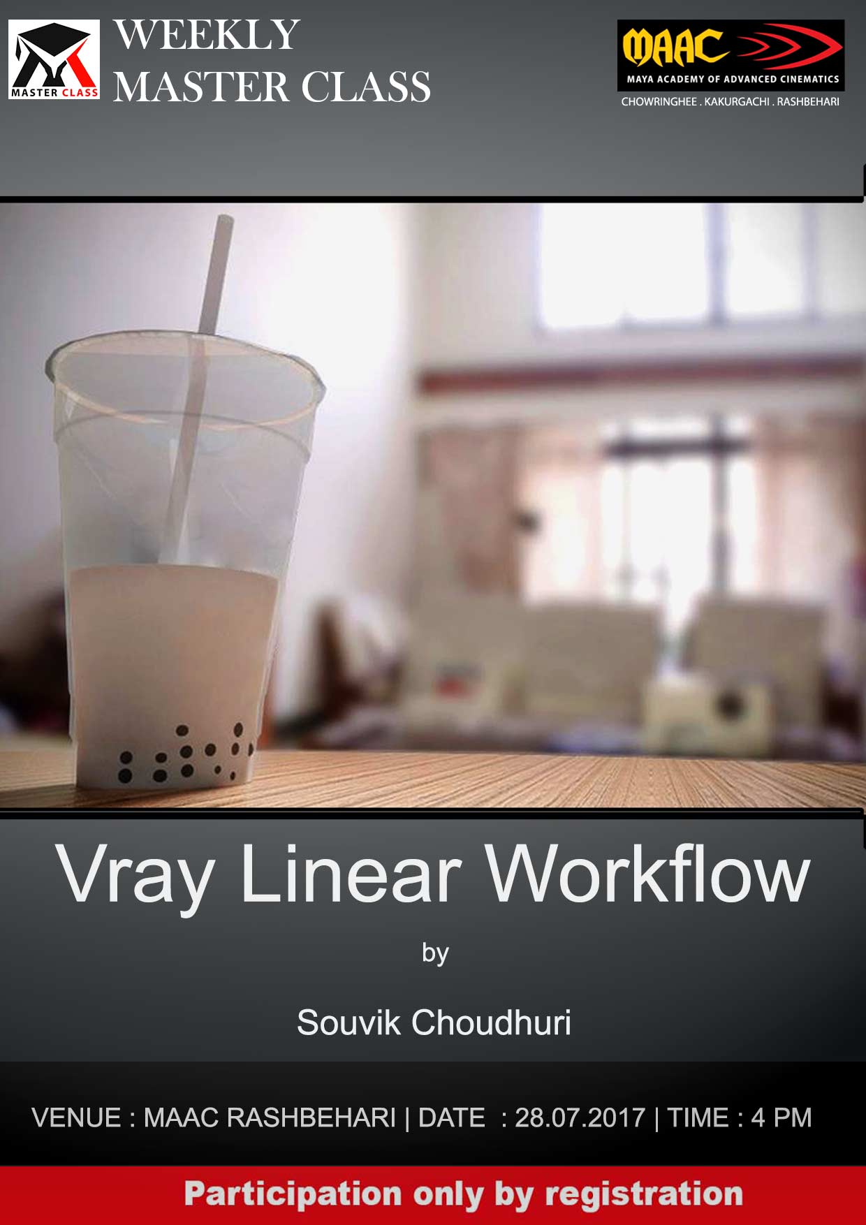 Weekly Master Class on Vray Linear Workflow - Souvik Choudhuri