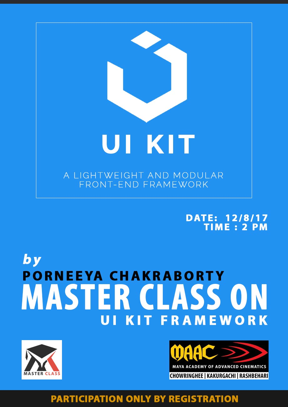 Weekly Master Class on UI KIT - PORNEEYA CHAKRABORTY