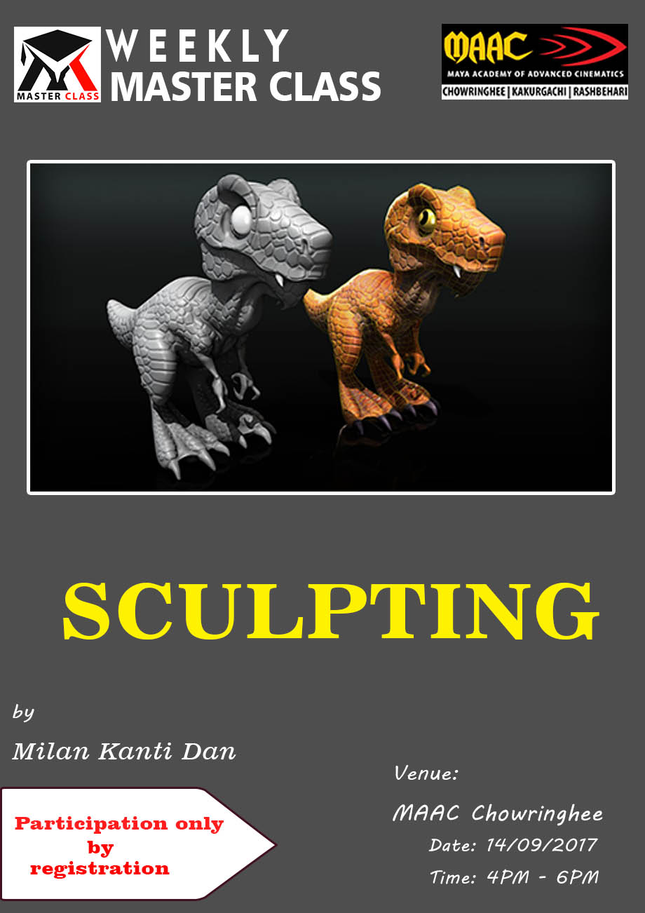 Weekly Master Class on Sculpting - Milan Kanti Dan