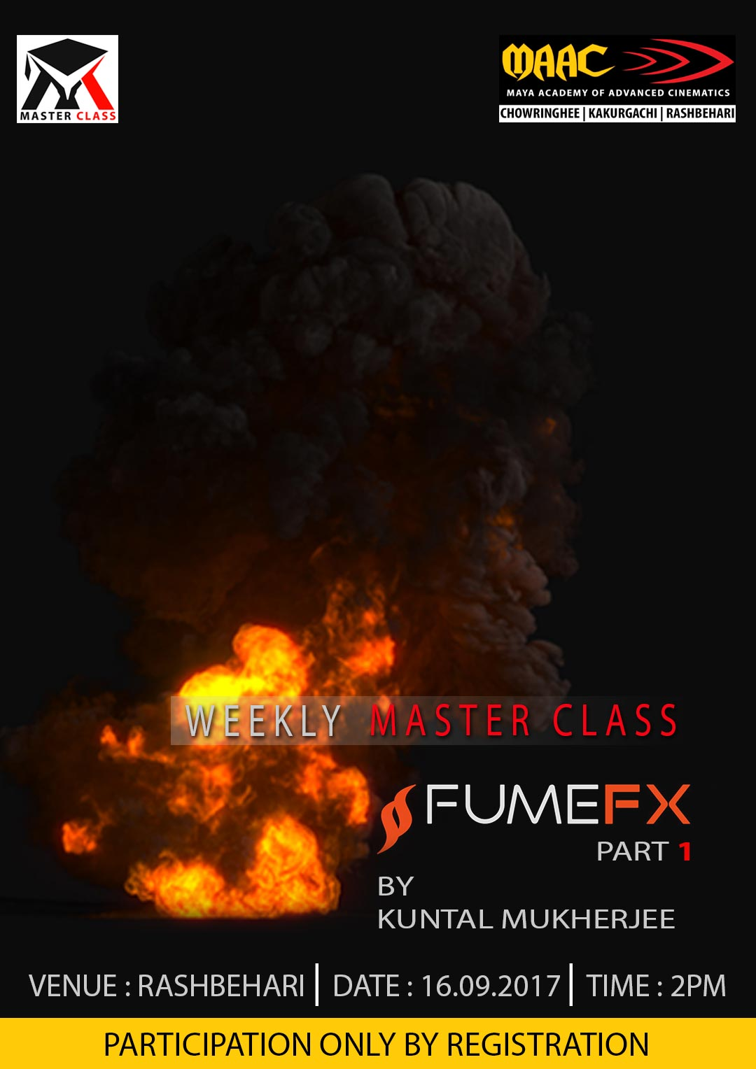 Weekly Master Class on FumeFx - Kuntal Mukherjee