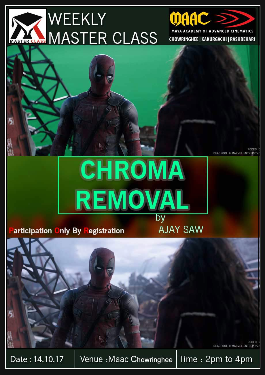 Weekly Master Class on CHROMA REMOVAL - AJAY SHAW