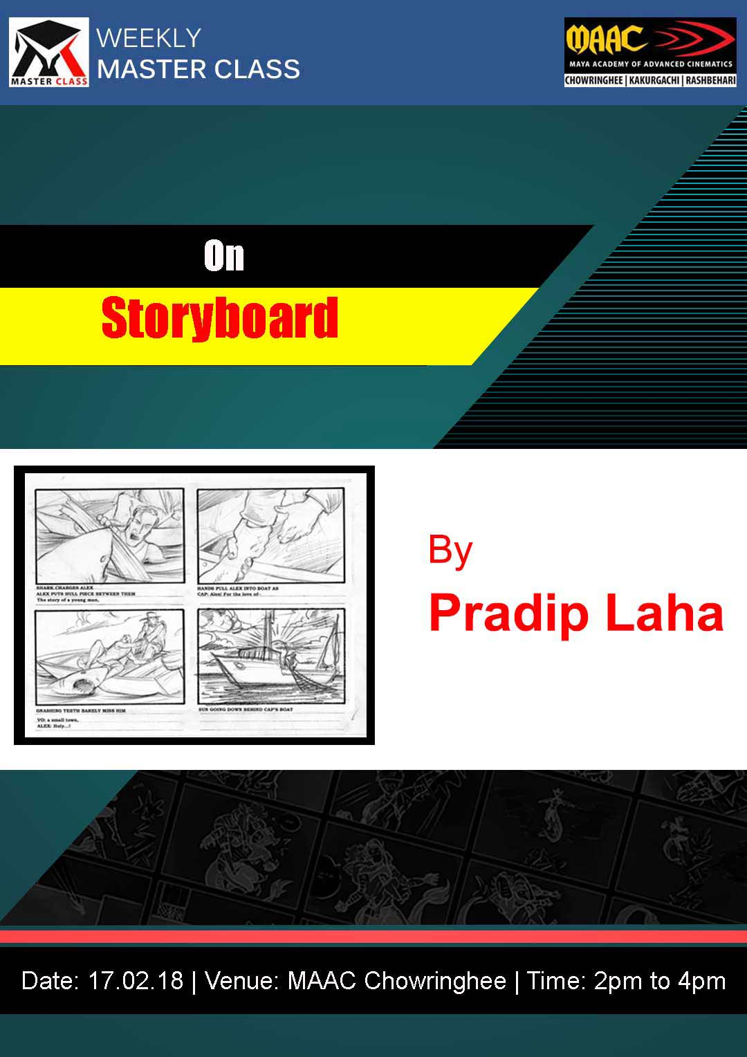 Weekly Master Class on Storyboarding
