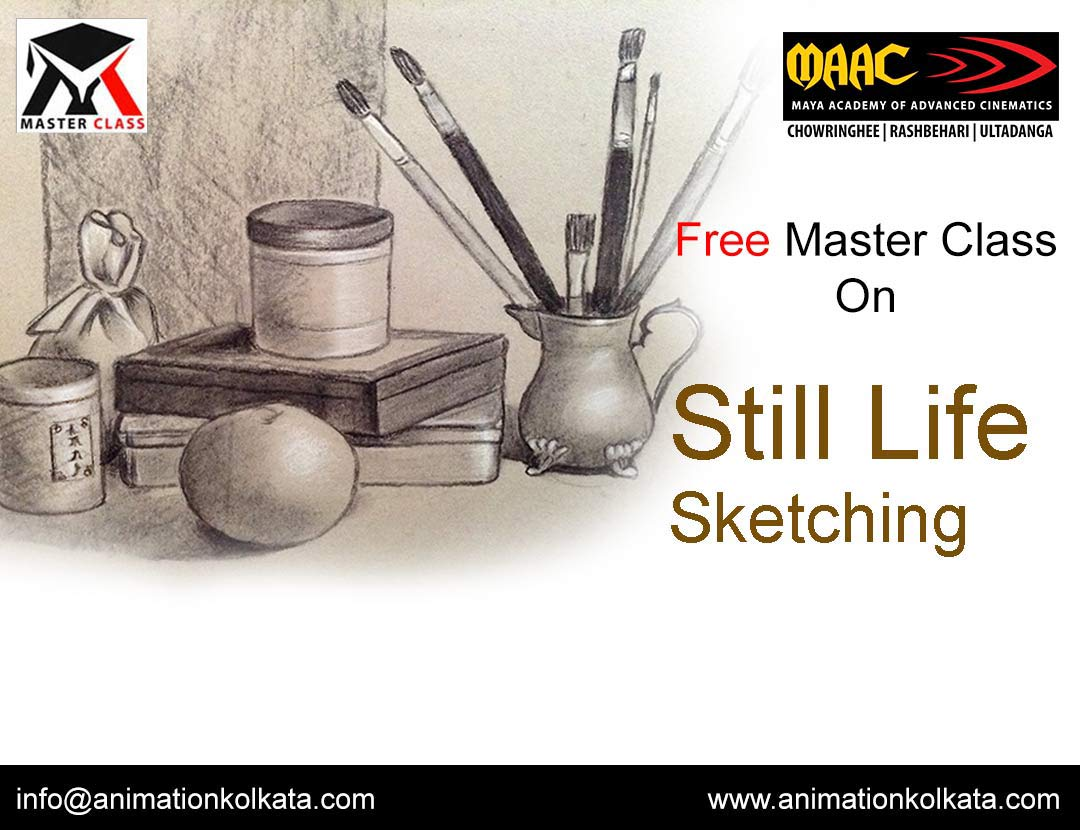 Free Master Class on Still Life Sketching
