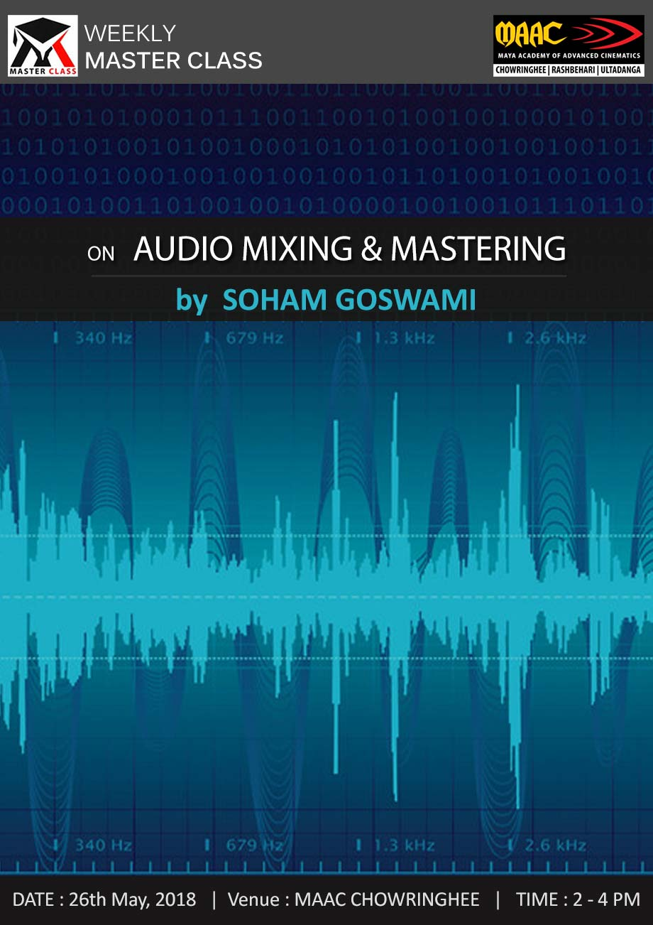 Weekly Master Class on Audio Mixing & Mastering