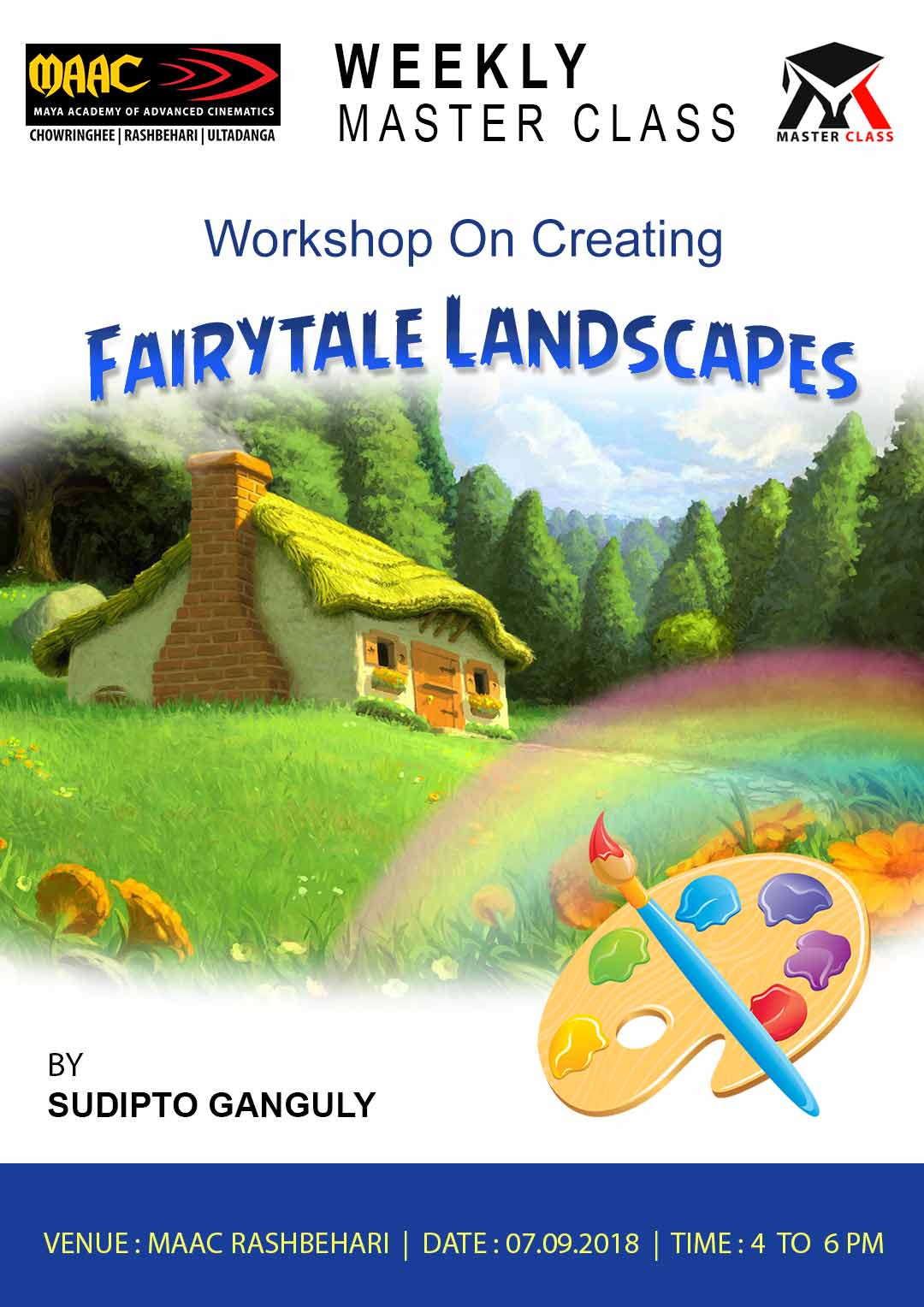 Weekly Master Class on Workshop On Creating Fairytale Landscapes