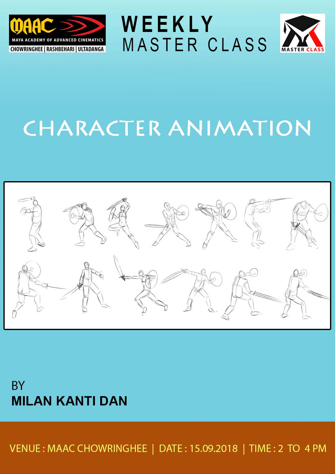 Weekly Master Class on Character Animation