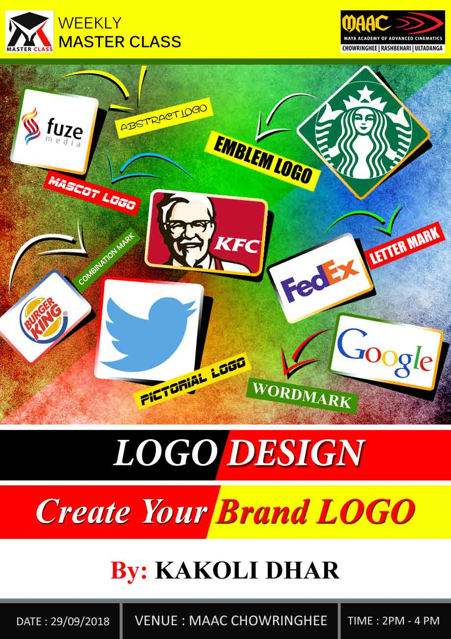 Weekly Master Class on Logo Design