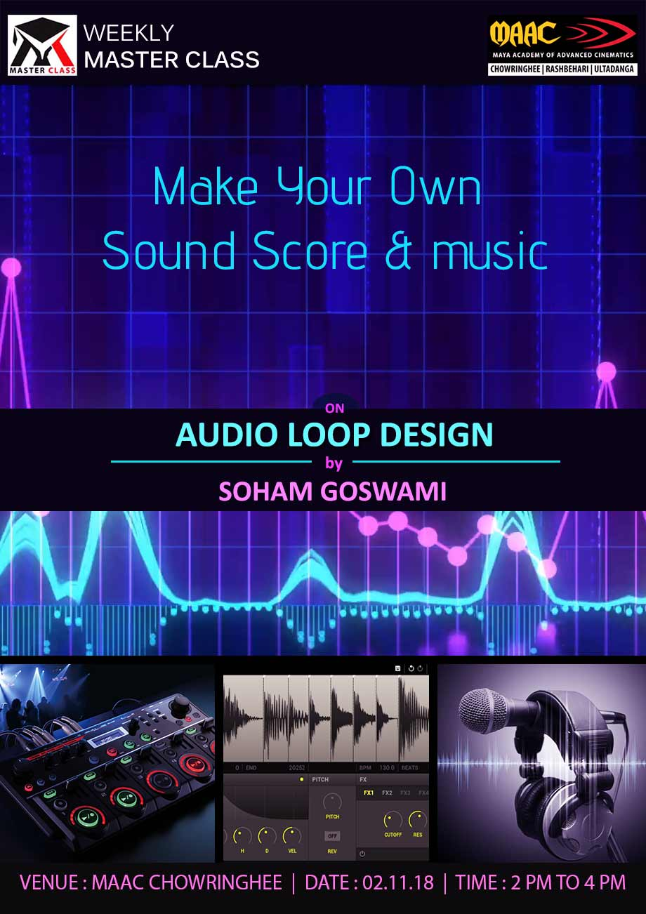 Weekly Master Class on Audio Loop Design