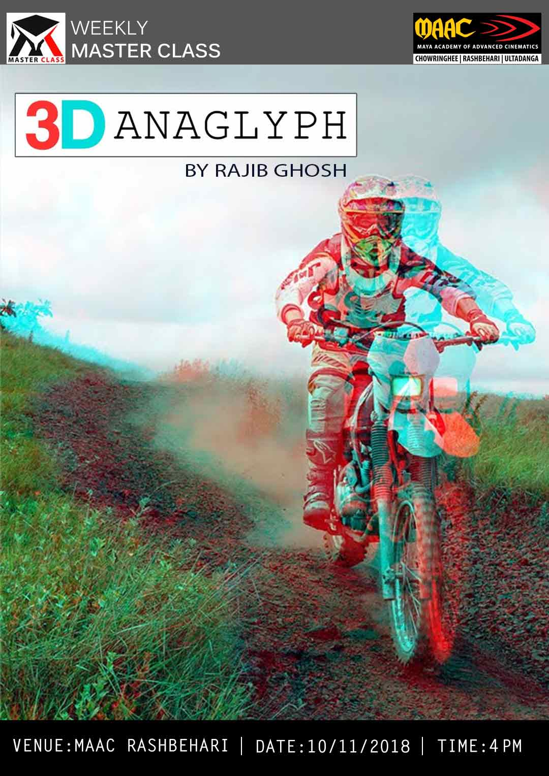 Weekly Master Class on 3D Anaglyph