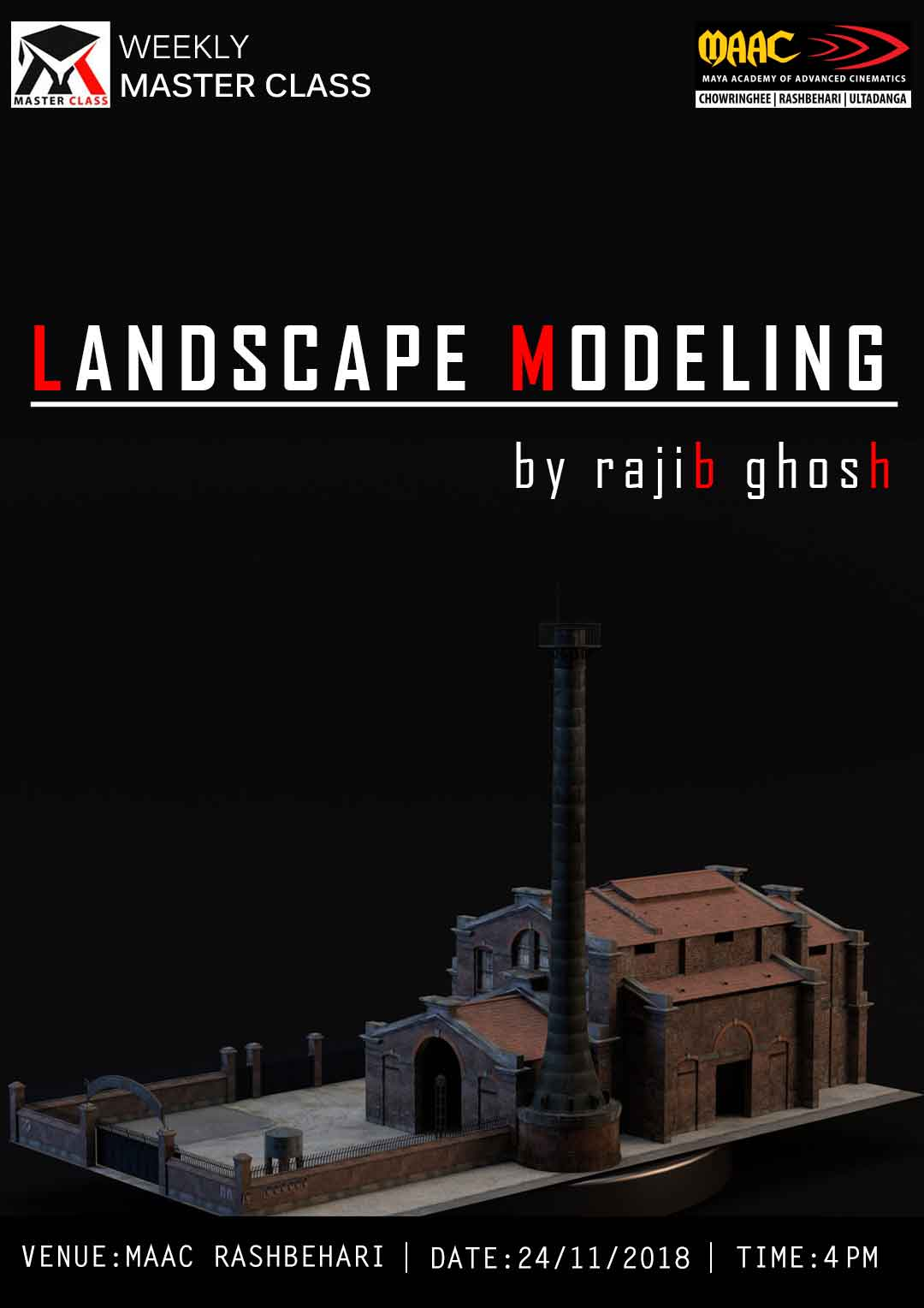 Weekly Master Class on landscape Modeling