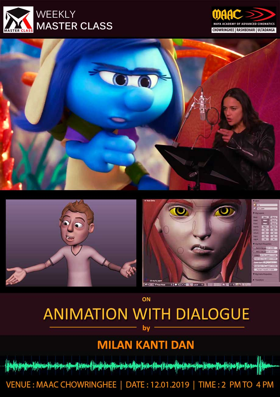 Weekly Master Class on Animation with Dialogue