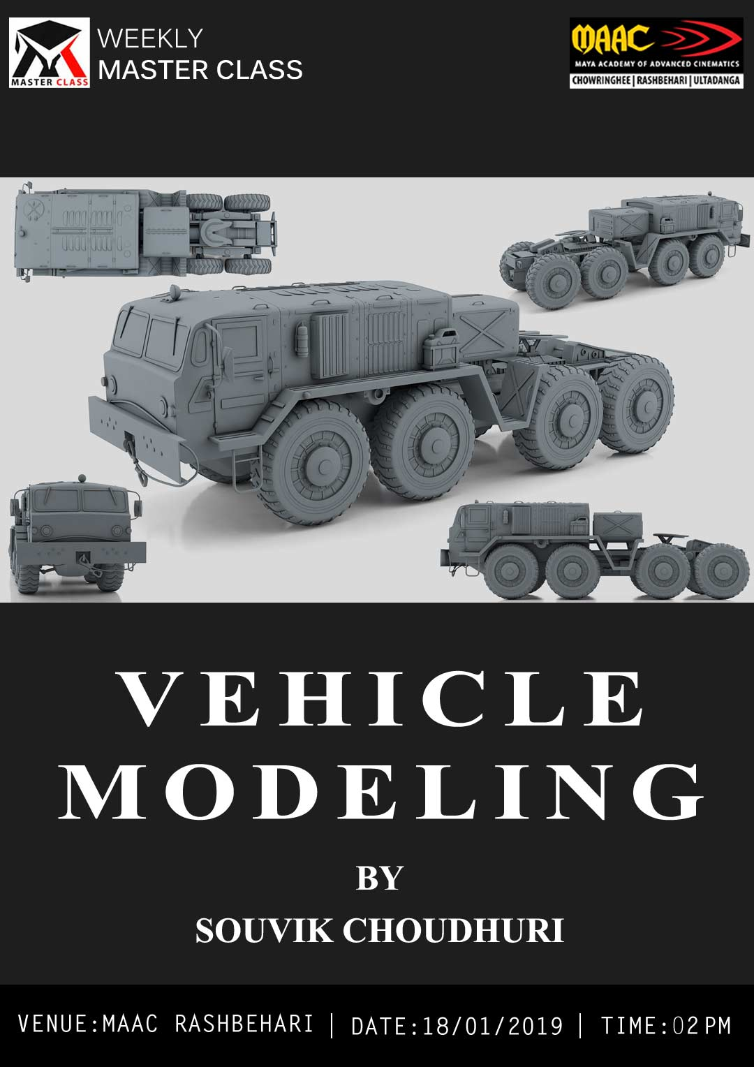 Weekly Master Class on Vehicle Modeling