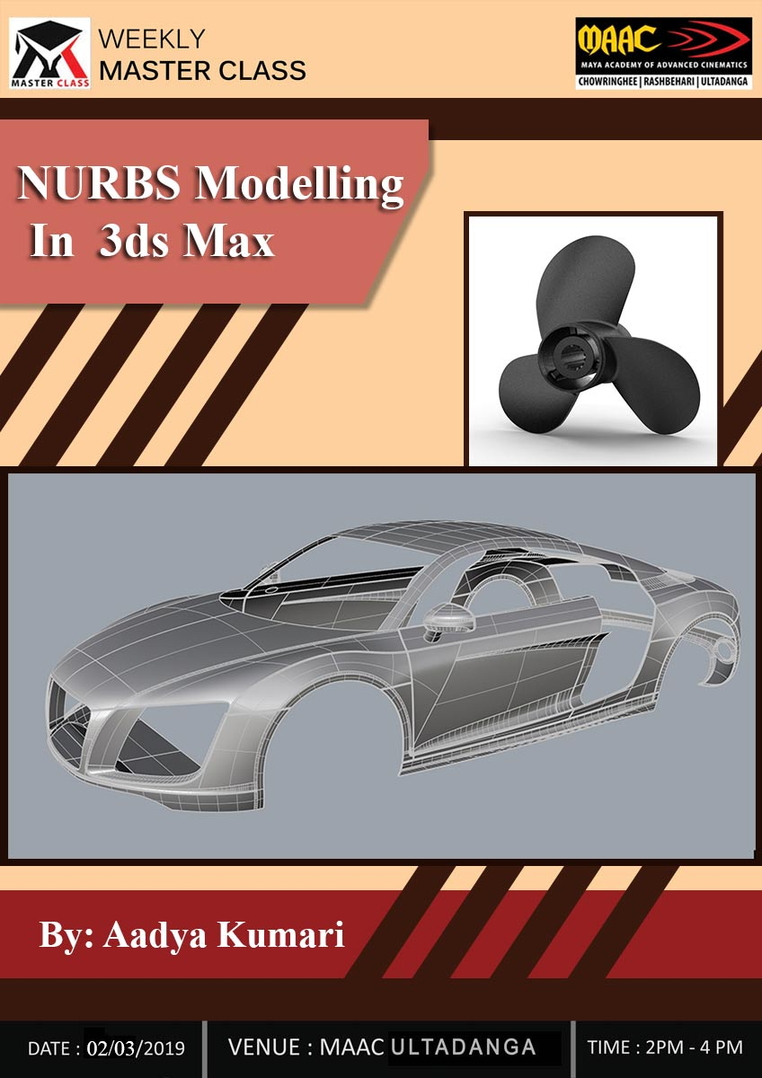 Weekly Master Class on NURBS Modelling ib 3Ds Max