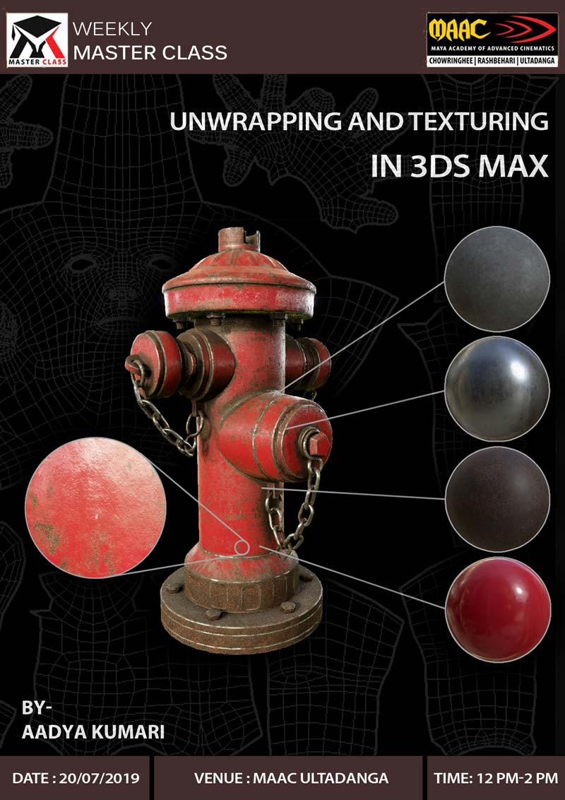 Weekly Master Class on Unwrapping & Texturing in 3Ds Max
