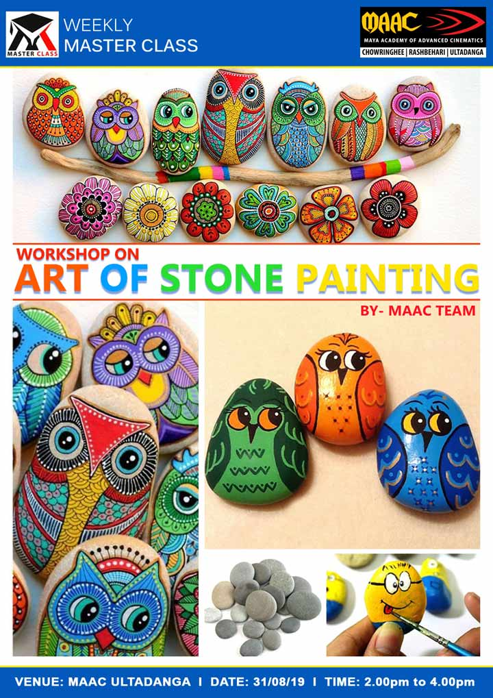 Weekly Master Class on Art of Stone Painting