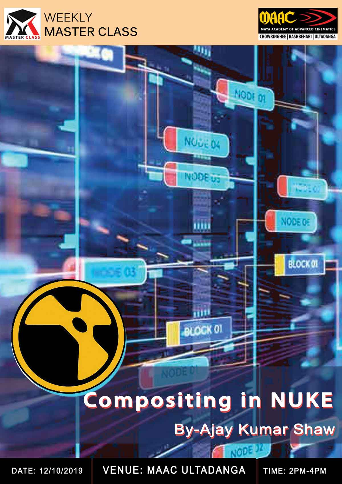 Weekly Master Class on Compositing in Nuke