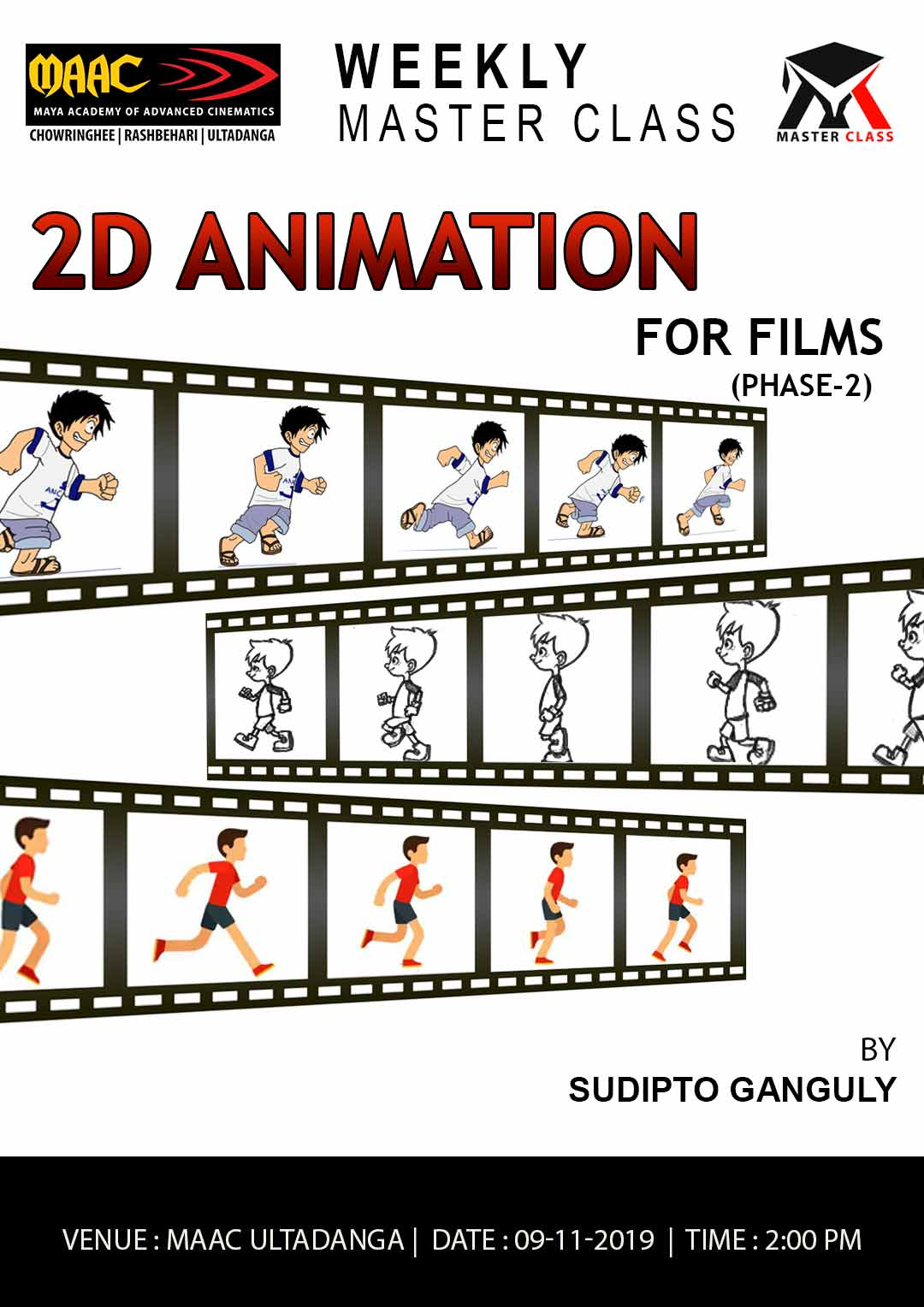 Weekly Master Class on 2D Animation Phase 2