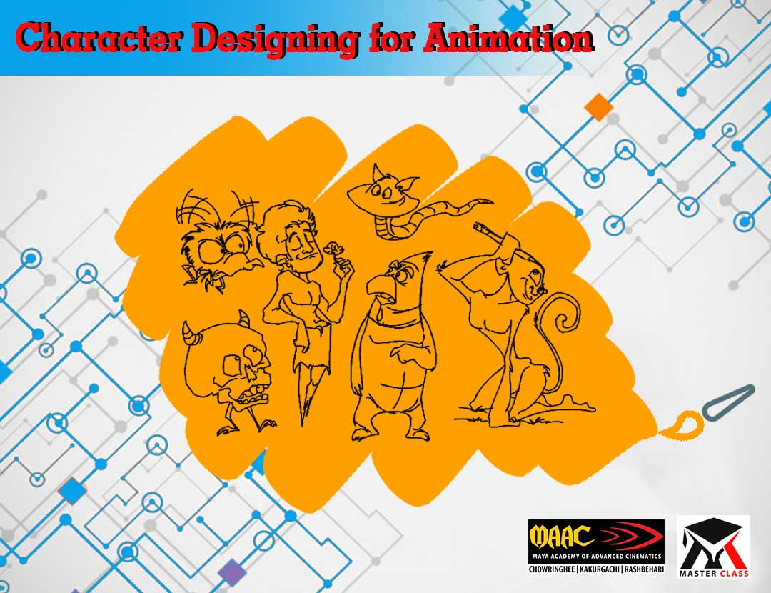 Free Master Class on Character Designing for Animation