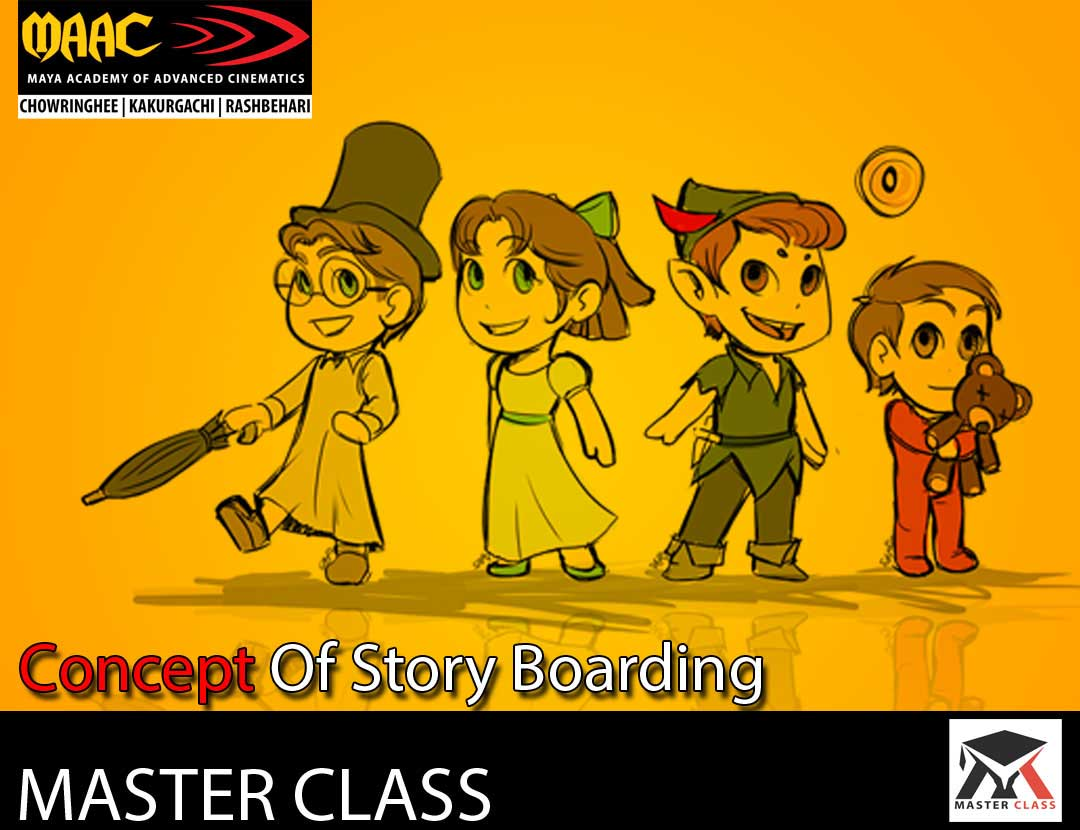 Free Master Class on Concept of Story Boarding