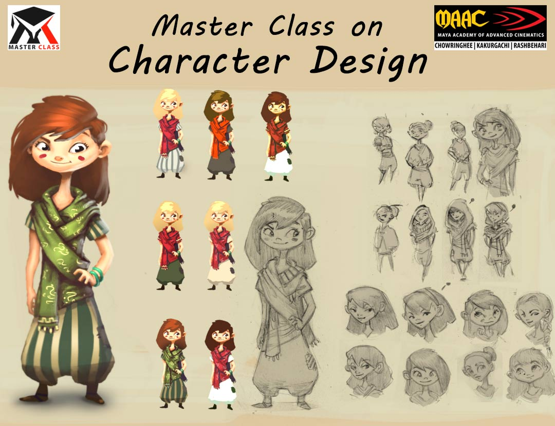 Free Master Class on Character Design