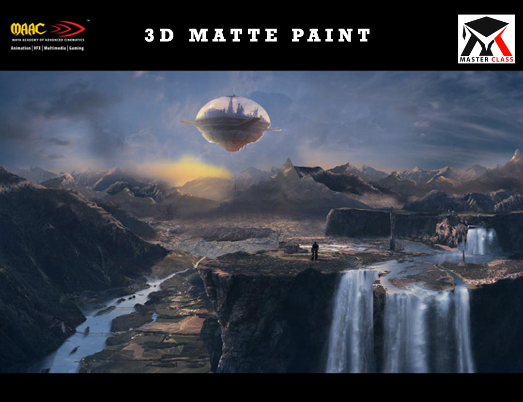 Free Master Class on 3D Matte Painting