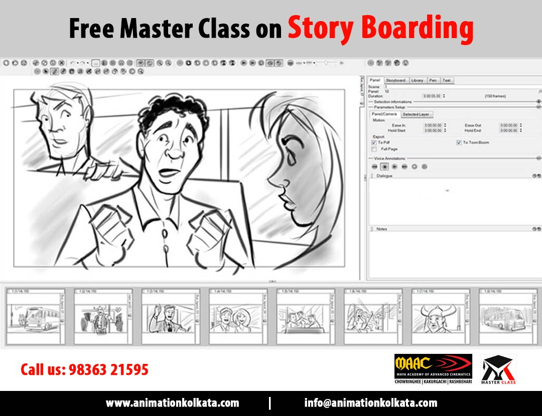 Free Master Class on Story Boarding