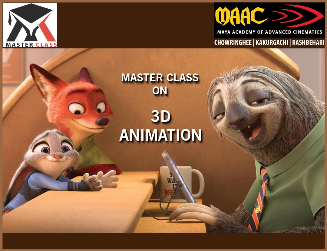 Free Master Class on 3D Animation
