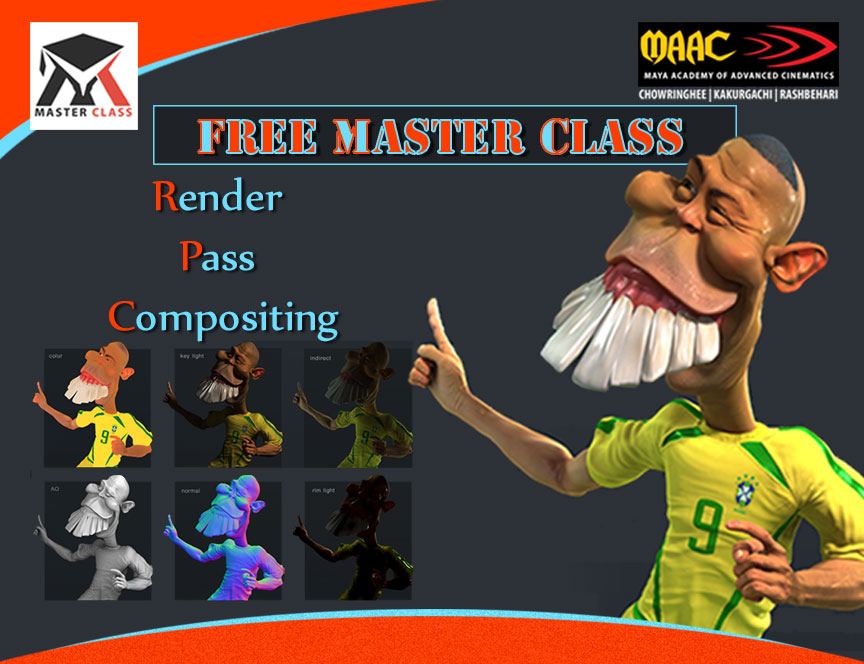 Free Master Class on Render Pass Compositing