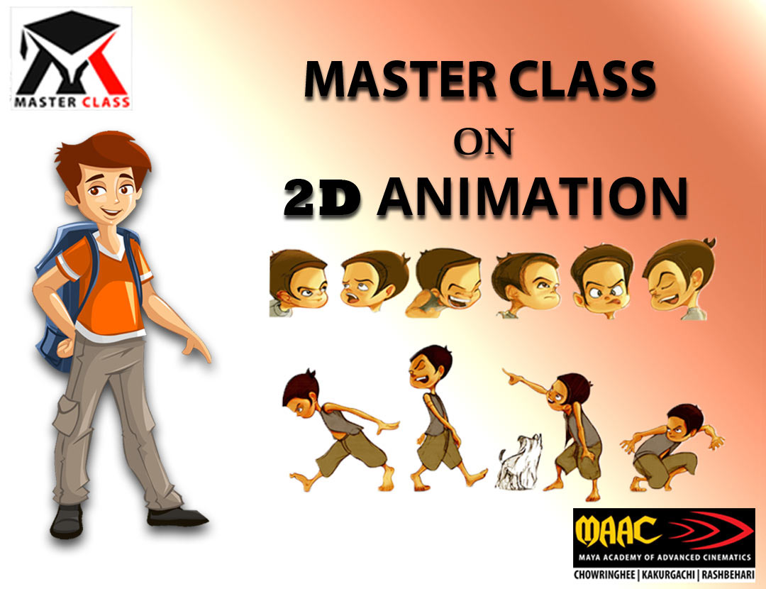 Free Master Class on 2D Animation