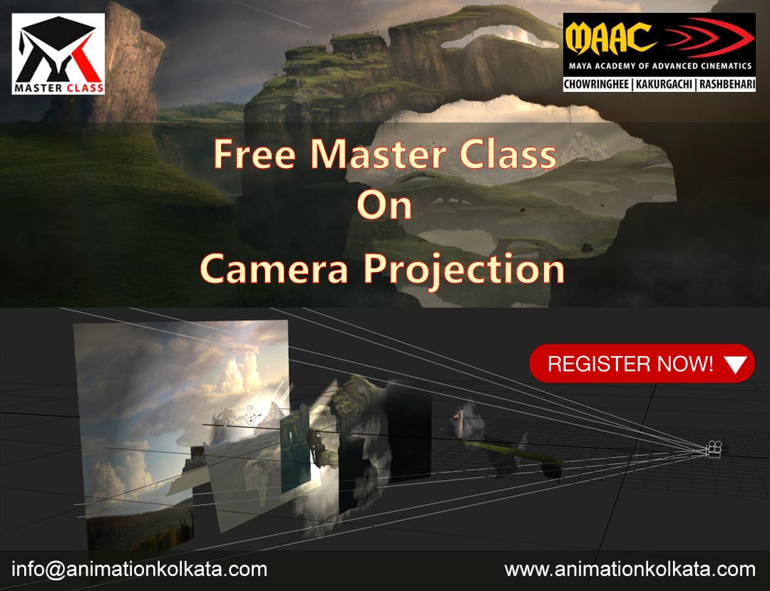 Free Master Class on Camera Projection