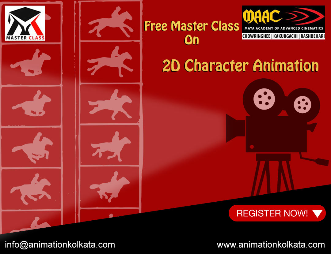 Free Master Class on 2D Character Animation