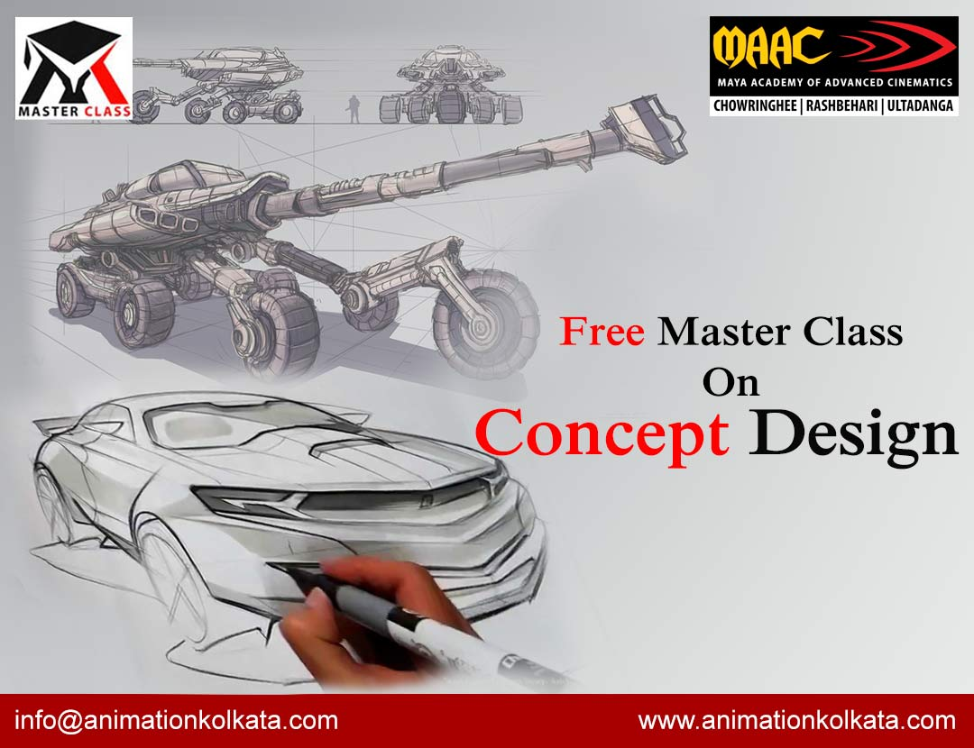 Free Master Class on Concept Design