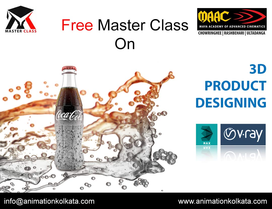 Free Master Class on 3D Product Designing