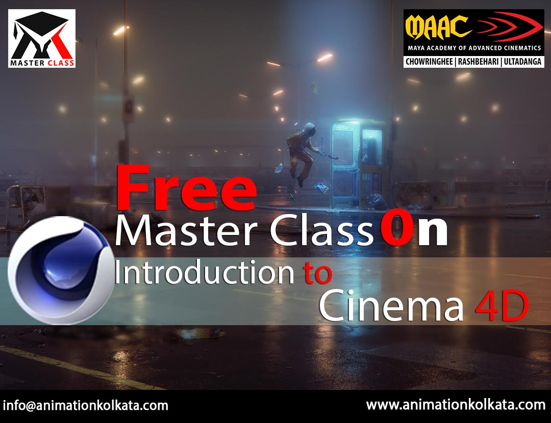 Free Master Class on Introduction to Cinema 4D