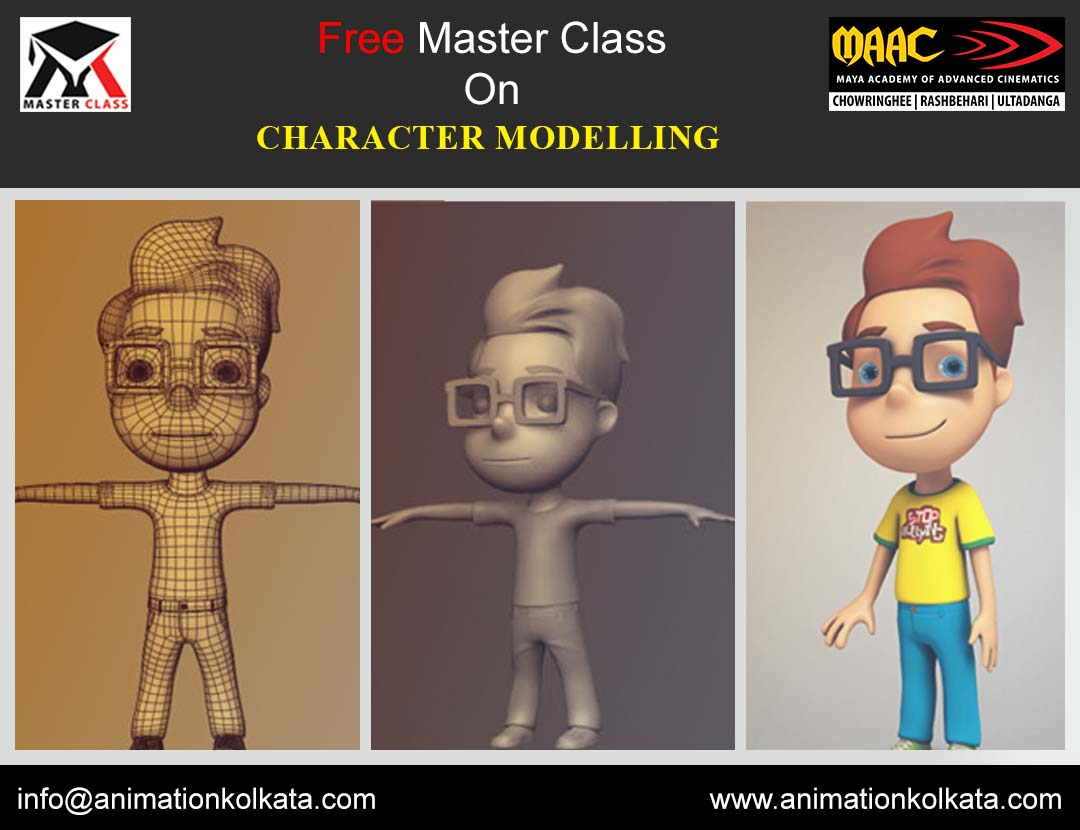 Free Master Class on Character Modelling
