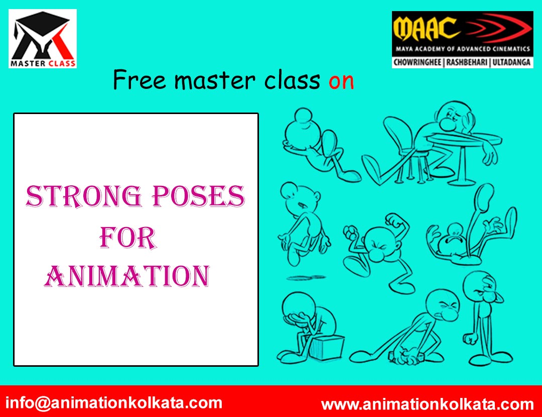 Free Master Class on Strong Poses for Animation