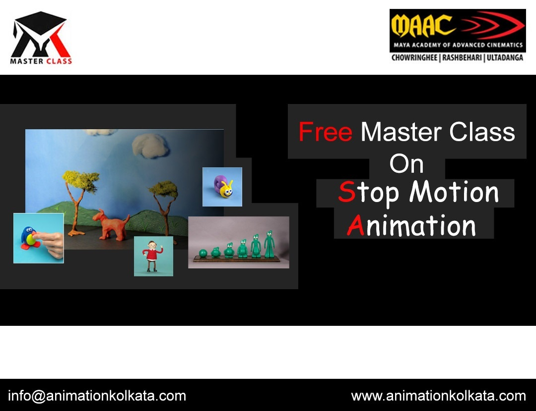 Free Master Class on Stop Motion Animation