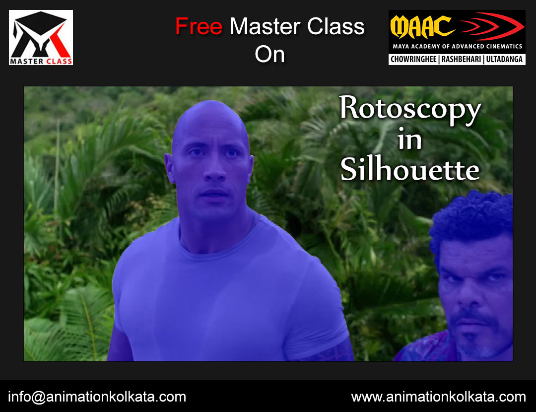 Free Master Class on Rotoscopy in Silhouette