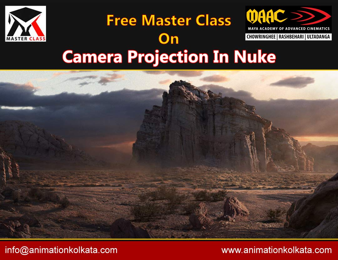 Free Master Class on Camera Projection In Nuke